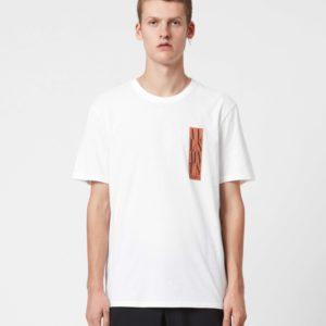 Мужская футболка ALLSAINTS red logo