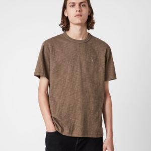 Мужская футболка ALLSAINTS dexter alpine brown