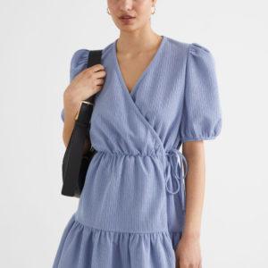 Платье женское Other stories голубого оттенка